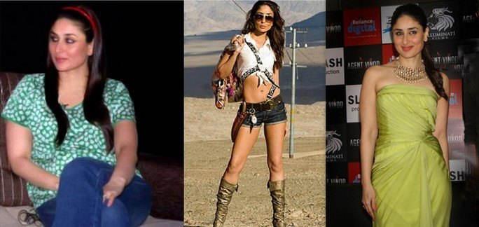 Bollywood stars such as seeBollywood stars such as seen before, and nown before, and now
