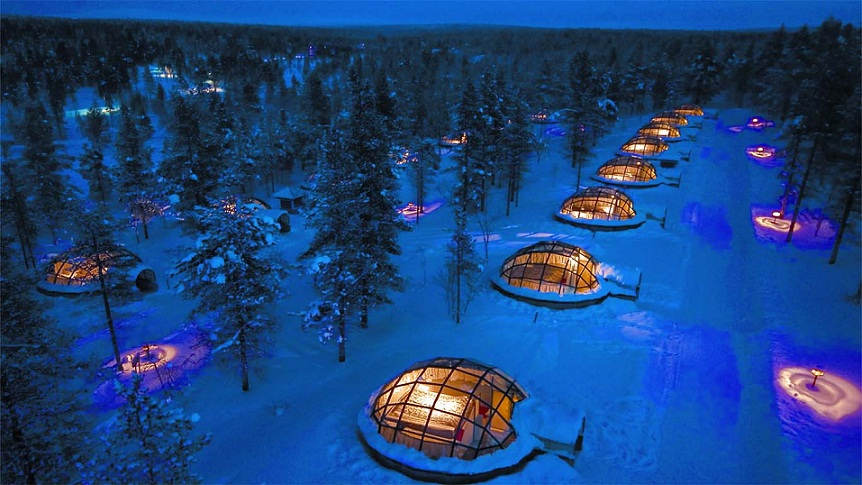 These hotels are definitely weird, but these are very different from living