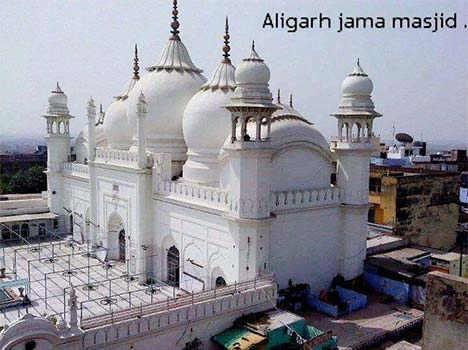 golden jama masjid of aligarh | Janvajevu.com