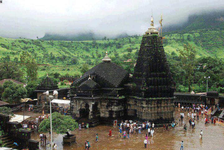 indian temples on hill | Janvajevu.com