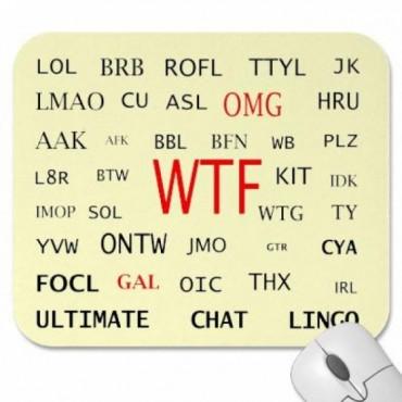 ફેસબુકમાં અશિષ્ટ શબ્દો, ચેટિંગ અને મેસેજ માટે વપરાતા શબ્દોના પૂર્ણ સ્વરૂપો