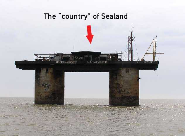 world's smallest country sealand in gujarati