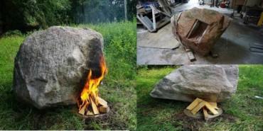 કળિયુગનો ચમત્કાર : આ પથ્થરમાં આગ લગાવવાથી નીકળે છે વાઈ-ફાઈ સિગ્નલ!