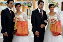 Twin-Priests-Married-Twin-Brothers-To-Twin-Sisters-in-Kerala-2