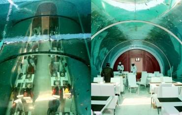 ગુજરાતમાં ખુલ્યું ભારતનું પહેલું 'અન્ડરવોટર રેસ્ટોરન્ટ'