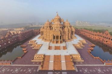 અમદાવાદ નું દર્શનીય અને અટ્રેકટીવ સ્થળ 'અક્ષરધામ મંદિર'