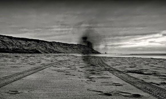 DUMAS beach haunted