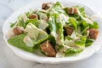 Lettuce Crouton Cheese Salad