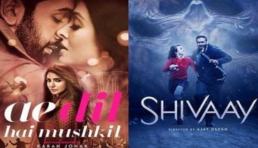 Box Office Collection: કમાઈમાં 'એ દિલ…' અને 'શિવાય' માંથી કોણ આગળ?