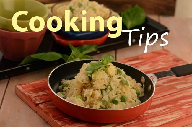 Cooking Tips! વાંચો રસોઈ બનાવવાના સરળ ઉપાયો