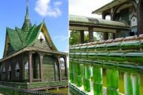 આ ભવ્ય મંદિર બનેલ છે બીયરની બોટલથી, સુંદરતા જોતા ચકિત થઇ જશો!