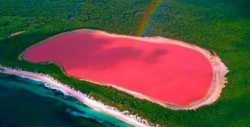 આ છે દુનિયાનું એકમાત્ર તળાવ, જેનો રંગ છે એકદમ ગુલાબી!!