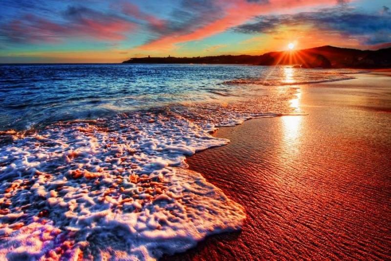 આ છે વિશ્વના સૌથી સુંદર એવા રંગબેરંગી દરિયાકિનારા