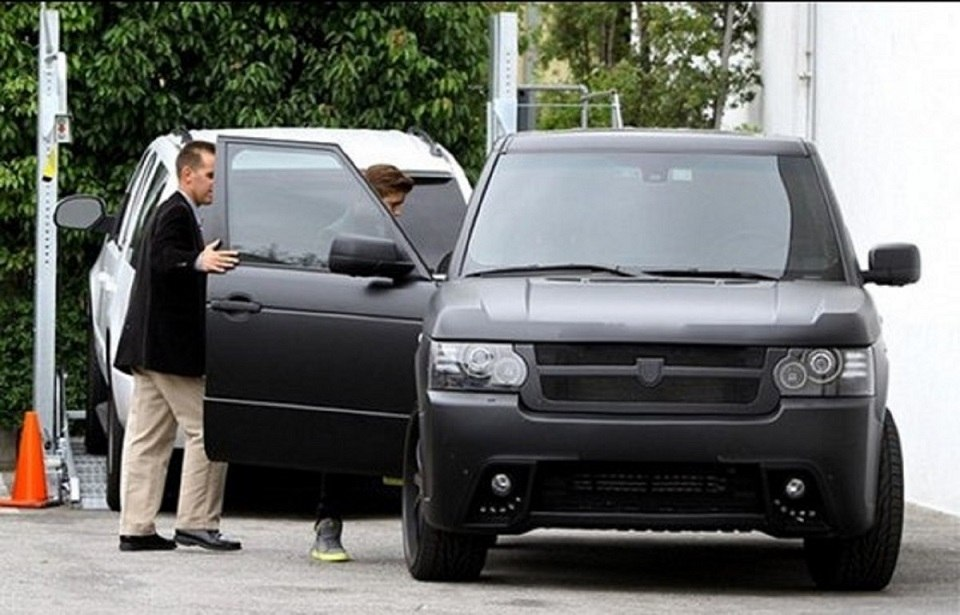 Justin Bieber's Customised Range Rover