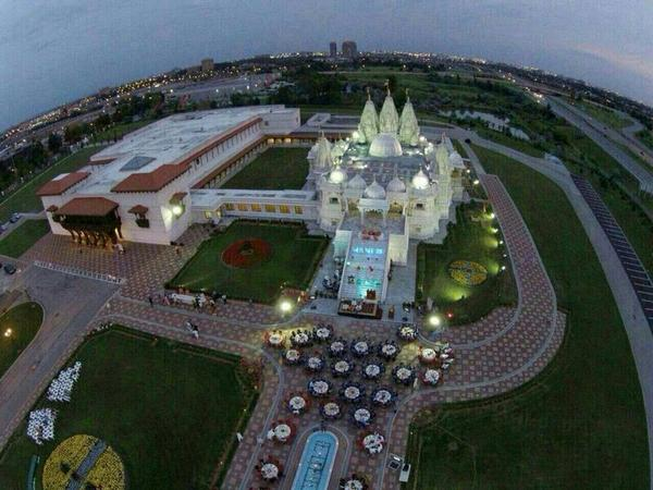 દુનિયાનું સૌથી મોટું હિંદુ મંદિર અહી બનશે!