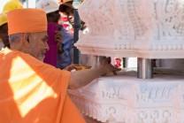 sthambh pujan