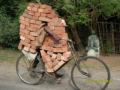 funny Indian bicycle