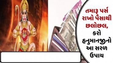 તમારૂ પર્સ રાખો પૈસાથી છલોછલ, કરો હનુમાનજીનો આ સરળ ઉપાય