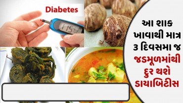 આ શાક ખાવાથી માત્ર ૩ દિવસમા જ જડમૂળમાંથી દુર થશે ડાયાબિટીસ