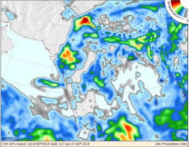 તારીખ ૨૧-૯-૧૮ થી ૨૬-૯-૧૮ માં સુ રહેસે વરસાદ ની સ્થિતિ, જાણો