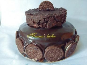 વીક એન્ડમાં બાળકો માટે ઓરીઓ ચોકલેટ કેક ચાલો બનાવીએ …