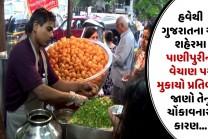 હવેથી ગુજરાતના આ શહેરમા પાણીપુરીના વેચાણ પર મુકાયો પ્રતિબંધ, જાણો તેનુ ચોંકાવનારુ કારણ…