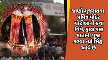 જાણો ગુજરાતના પવિત્ર મંદિર ચોટીલાની કથા વિષે, હાલ પણ માતાની પૂજા કરવા ત્યાં સિંહ આવે છે