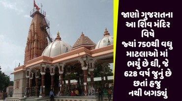 જાણો ગુજરાતના આ શિવ મંદિર વિષે જ્યાં 750થી વધુ માટલાઓ માં ભર્યું છે ઘી, જે 628 વર્ષ જુનું છે છતાં હજુ નથી બગડ્યું