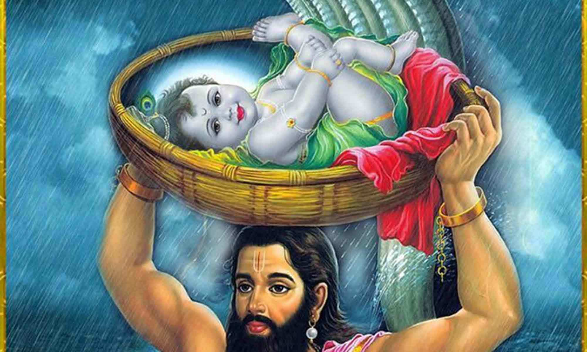 Lord-Krishna-Baby-and-Vasudeva