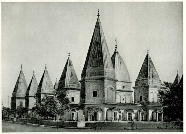Raghunath Temple in Jammu - India 1928