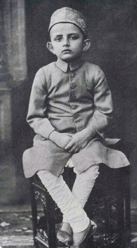 vikram sarabahi at age of 7