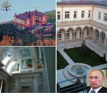 20 ઘર, 58 એરક્રાફ્ટસ, Luxury Life જીવે છે રશિયન રાષ્ટ્રપતિ પુતિન