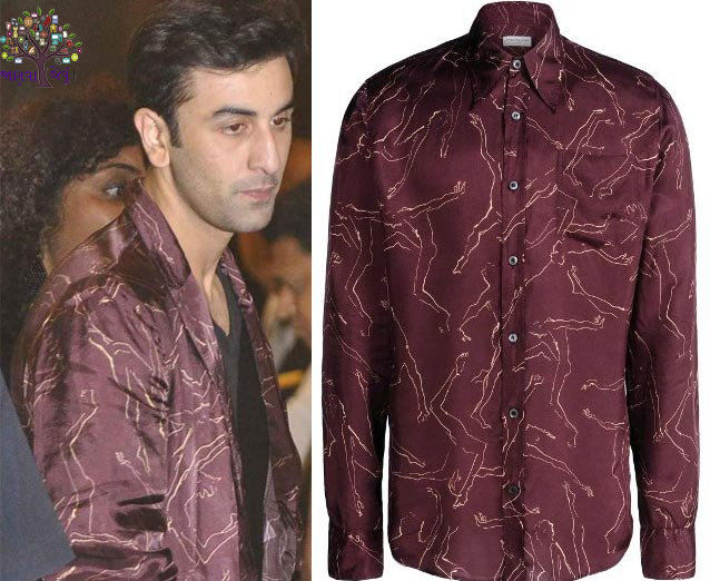 Ranbir Kapoor invariably must go to the Naughty shirt, this is nothing special