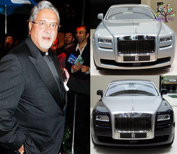 What are Businessman choose in which the car is to drive the car to Vijay Mallya