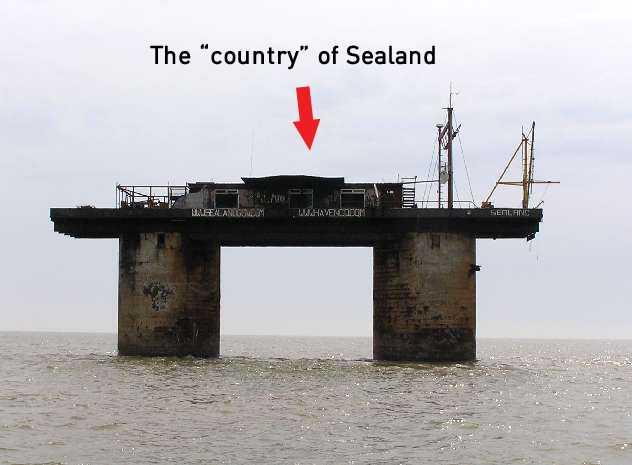 world's smallest country sealand in gujarati