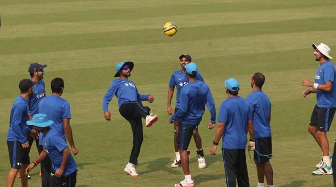 વીડીયો : ભારતીય ટીમ મેચ પહેલા કઈક આ રીતે પ્રેક્ટિસ કરતા હતા!