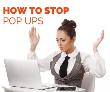 ઈન્ટરનેટમાં આવતા પોપઅપ એડને કેવી રીતે બંધ કરાય?
