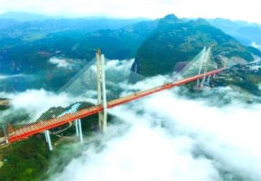 ચાઈના મિરેકલ! ચાઈના એ બનાવ્યો દુનિયાનો સૌથી ઊંચામાં ઉંચો બ્રીજ!