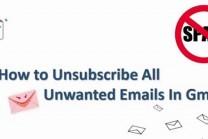 બિનજરૂરી ઈ-મેઈલ અટકાવવા અપનાવો આ રીત