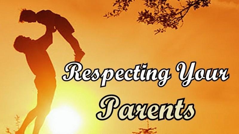 આ રીતે માતા-પિતાનું સમ્માન કરવાથી થશે ઉજ્જવળ ભવિષ્ય…!!