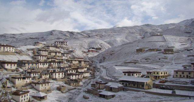 હિમાચલ પ્રદેશનું સૌથી ઊંચામાં ઊંચું ગામ છે કીબ્બર