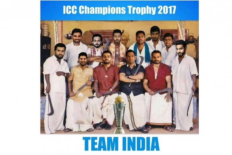ચેમ્પિયન ટ્રોપી ની ફાઈનલ મેચ India v/s Pak માટે એકદમ બેસ્ટ ફની Memes